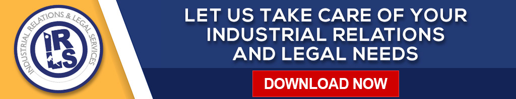 Industrial relations banner