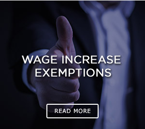 Wage Increase Exemptions Thumbnail